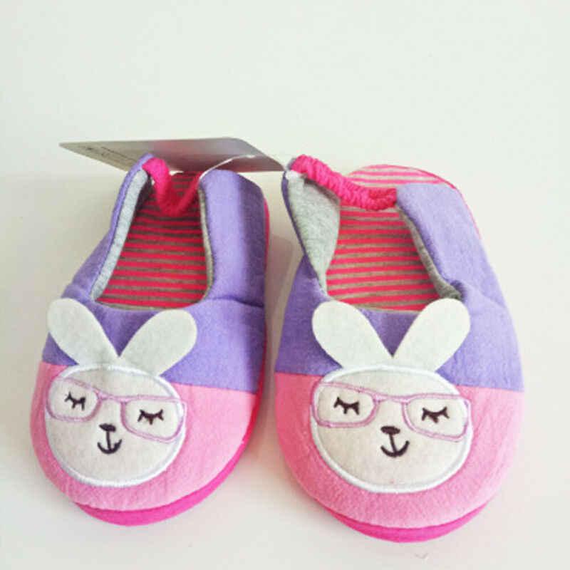 Winter Kinder Hausschuhe Mädchen Jungen Cartoon Herbst Slipers Kinder Schuhe Non-slip Anti-verschütten Hausschuhe Warme Kinder Haus schuhe