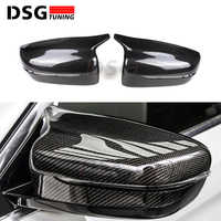 Replacement Mirror Cover For BMW 5 Series G30 G31 Side Rear Mirror Left Hand Driver Carbon Fiber ABS 2017 2018 2019