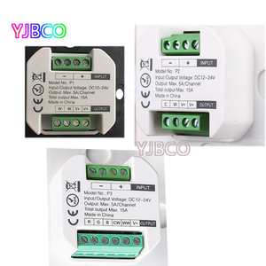 Image 5 - MiBOXER P1/P2/P3 스마트 패널 컨트롤러 디밍 Led 조 광 기 RGB/RGBW/RGB + CCT 색 온도 CCT Led 패널/스트립 빛