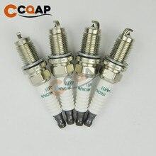 4 adet 9807B 5615W SKJ20DR M11 iridyum buji Honda Accord için CR V Acura RL TSX 9807B5615W SKJ20DRM11