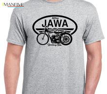 Tshirt Homme 2019 New JAWA SPEEDWAY inspired vintage motorcycle classic bike shirt tshirt