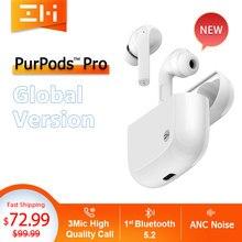 Глобальная версия ZMI PurPods Pro во всем мире 1st Bluetooth 5,2 True Беспроводной наушники 3Mic анти Шум ANC вкладыши Водонепроницаемый наушники