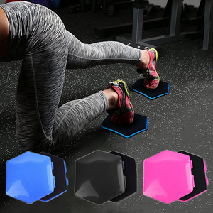 Detachable Fitness Disc Gliding Discs Slider Exercise Sliding Plate For Yoga Gym Abdominal Core Training Exercise Equipment