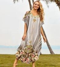 Новое пляжное платье больших размеров pareos de playa mujer