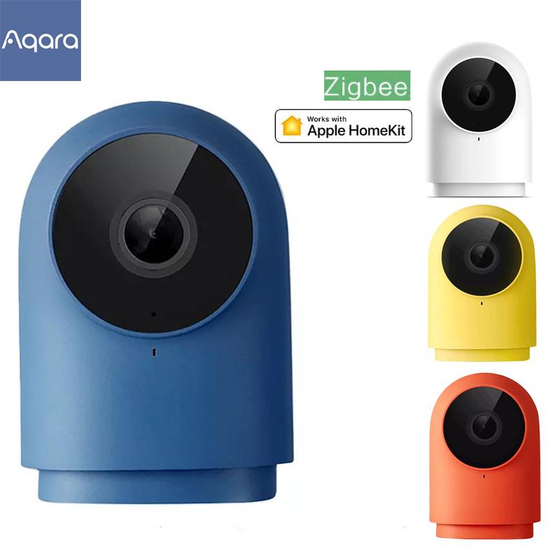 Newest Aqara G2H Smart Camera 1080P HD Gateway HUB Edition Night Vision Mobile IP Zigbee wifi Camere For Xiaomi apple homekit