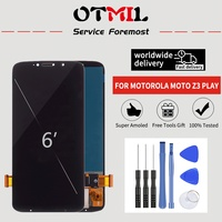 "6.0"" Super AMOLED For Motorola Moto Z3 Play XT1929 XT 1929 LCD Display Touch Screen Digitizer Assembly XT1929 XT 1929 LCD #1#