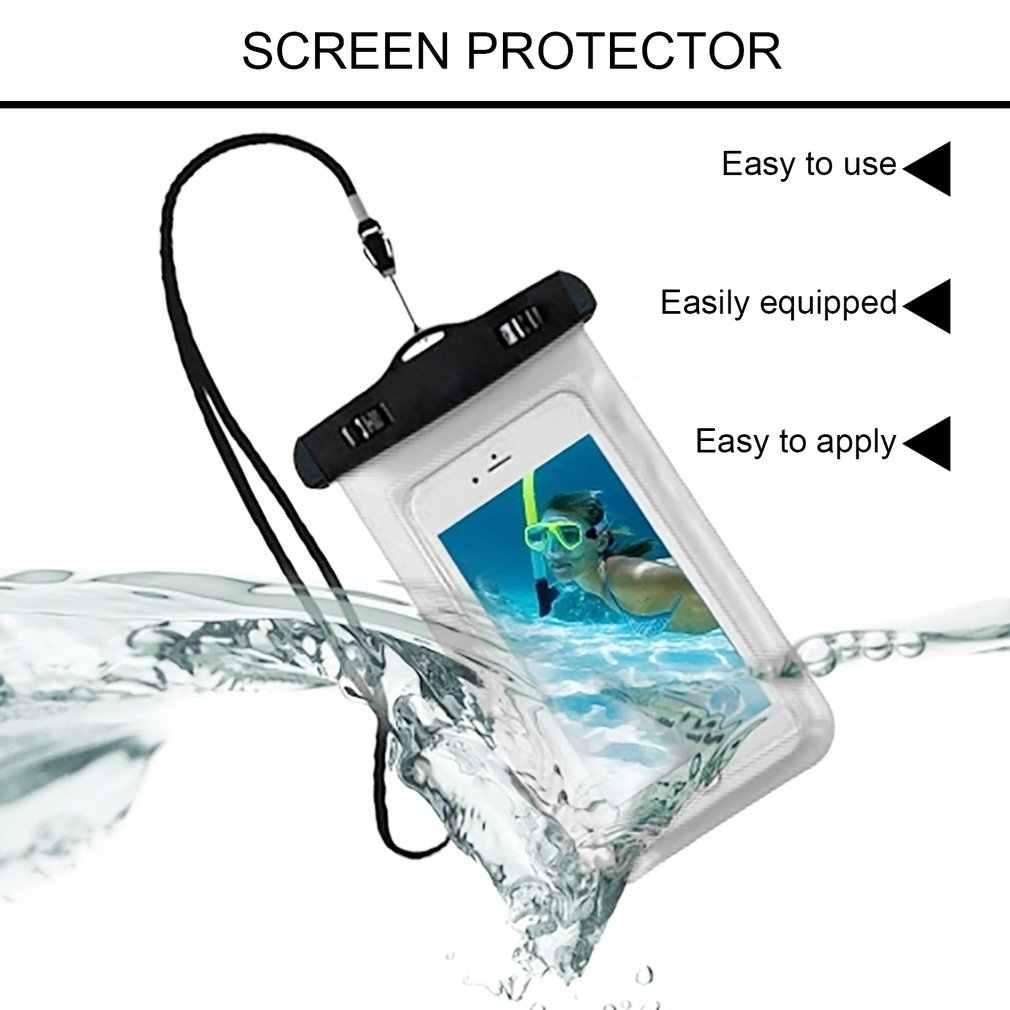 防水電話バッグポーチ水中ドライケースカバーユニバーサル携帯電話防水バッグダート耐