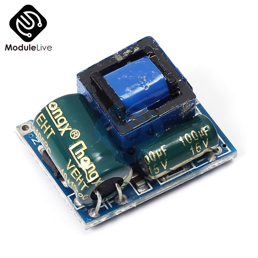 <font><b>AC</b></font>-<font><b>DC</b></font> <font><b>5V</b></font> 600mA Power Supply Module <font><b>3W</b></font> Isolated Switching220V to <font><b>5V</b></font> Buck Step Down Module Voltage Regulator Tools image