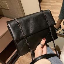 Fashion Chain Foldable Women Shoulder Bags Designer Messenger Bag Luxury Pu Leather Crossbody Bag Large Capacity Tote Lady Purse недорого