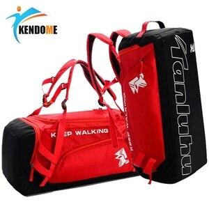 Image 1 - Esportes ginásio saco à prova dwaterproof água sacos de esportes para homens fitness yoga treinamento bolsa com compartimento sapato viagem saco do esporte 30l