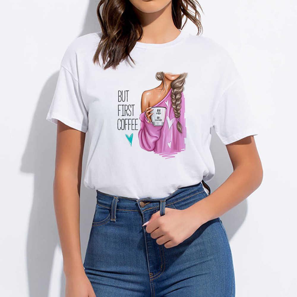 Punk Kawaii T-shirt Pop Harajuku Trendy Hipster T-shirt Übergroßen Super Mom Runde Kragen Vogue Frühling Sommer Hip Hop Nette T hemd
