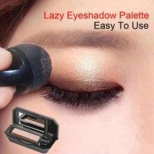 Dwukolorowy leniwe oko cień paleta do makijażu paleta cieni do powiek paleta cieni do powiek wodoodporny brokat cień do powiek kosmetyki połyskujące