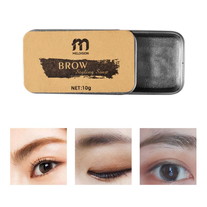 3D Feathery Brows Makeup Balm Styling Brows Soap Kit Lasting Eyebrow Setting Gel Waterproof Eyebrow Tint Pomade Cosmetics TSLM2