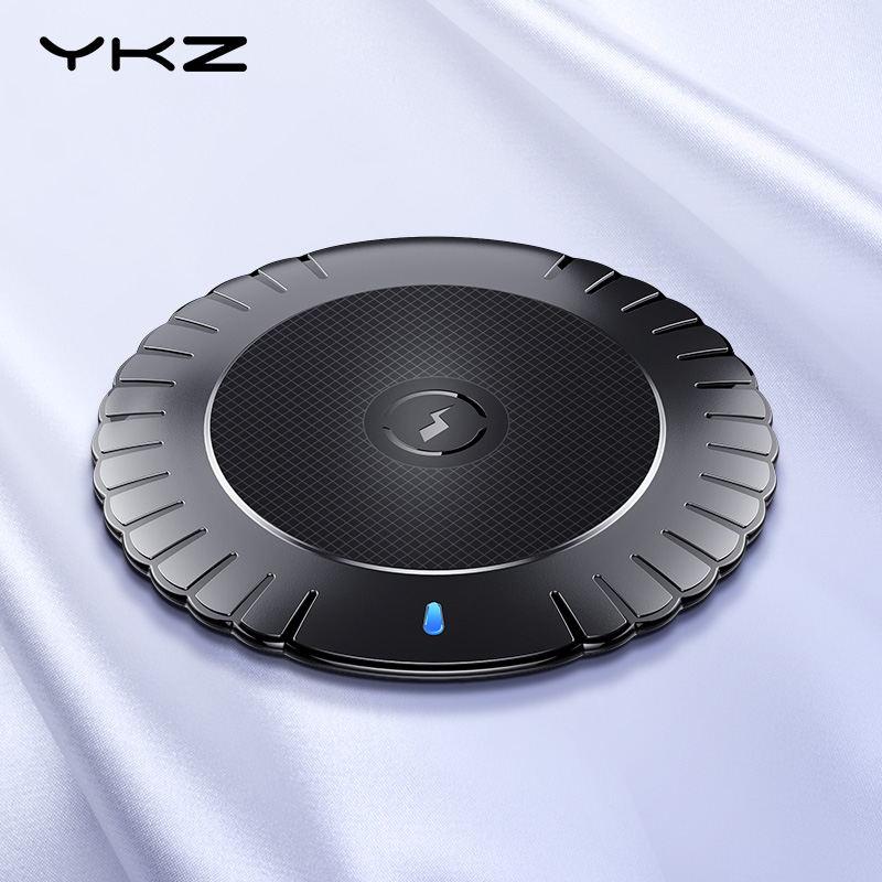 YKZ 10W Wireless Charger For IPhone X XS Max XR 8 Plus Portable Fast Wireless Charging Pad For Samsung Huawei Qi Charger Wirless