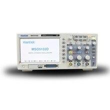 Hantek 100 МГц MSO5102D смешанный цифровой осциллограф 16 логических каналов+ 2 аналоговых канала+ внешний триггер канал