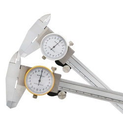 Dial Calipers 0-150 Mm 0.02mm High Precision Industry Stainless Steel Vernier Caliper Shockproof Metric Measuring Tool