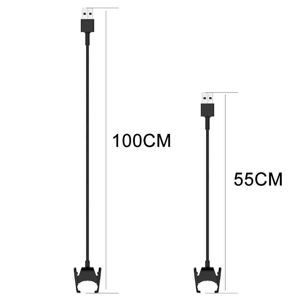 Câble de chargement USB cordon Clip pour Fitbit Charge 3 montre chargeur câble adaptateur remplacement montre intelligente ligne de Charge accessoires