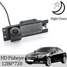Rear-View-Camera Opel Insignia Fisheye 2008 Owtosin for Car 2009 HD 1280--720