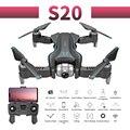 Rc Quadcopter S20 Drone Gps 4K Hd Doppia Fotocamera 5G Wifi Fpv Pieghevole Selfie Drone Professionale Flusso Ottico 500 M Lunga Distanza