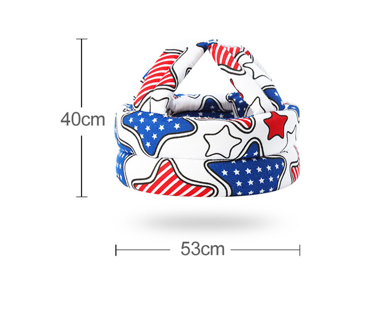 Adjustable Baby Hat Protective Anti-collision Safety Helmet Baby Cap Toddler Kids Hat for Girl Boy Accessories Cotton Mesh 6M-5Y 10