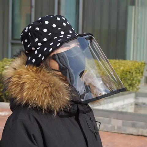 no estoque xiaomi protetor facial capa chapeu