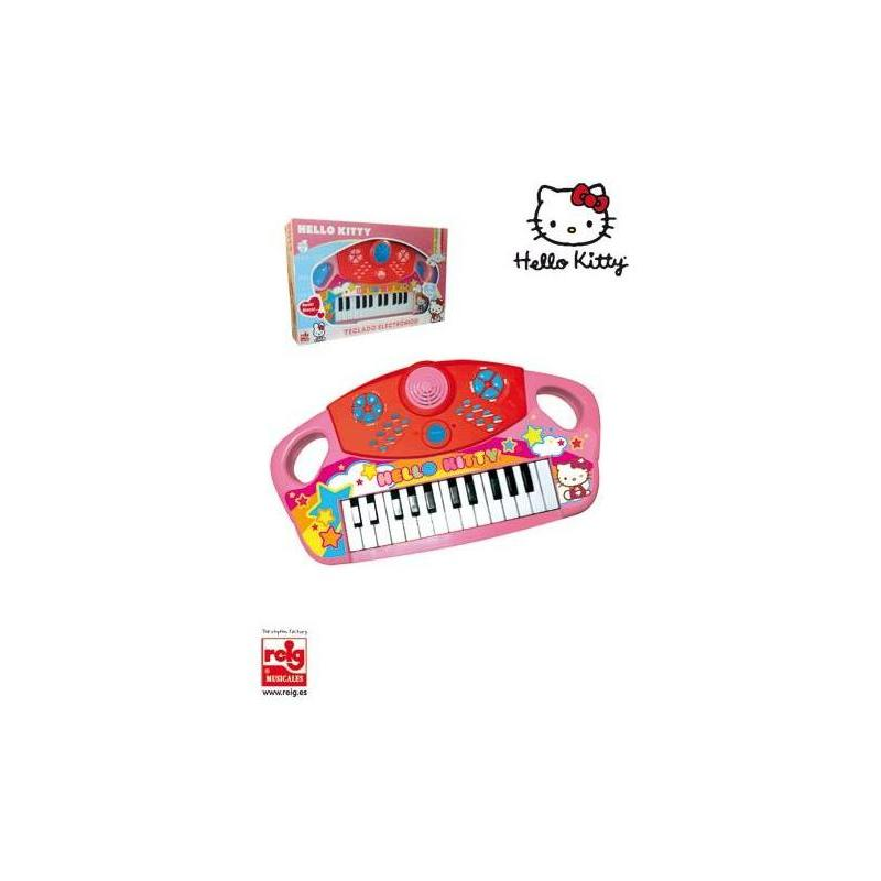 Organ Electronico25 Keys Hello Kitty Toy Store
