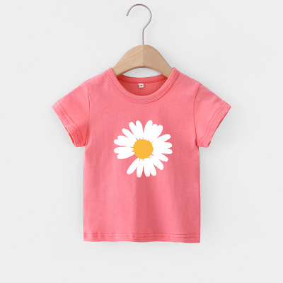 VIDMID Baby girls t-shirt Summer Clothes Casual Cartoon cotton tops tees kids Girls Clothing Short Sleeve t-shirt 4018 06 7