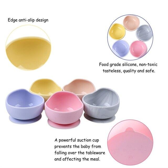 Mangkuk Silikon BPA Free  5
