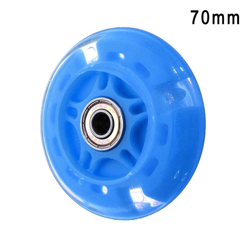 4 Pcs Inline Skates Wheels Flash Light Up With Magnetic Core Sliding Roller Skating ZJ55