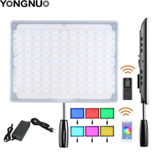 YONGNUO YN600 RGB Ultra Thin Video LED Video/ Photo Light with Adjustable Color Temperature 3200K 5500K for Canon Nikon camera