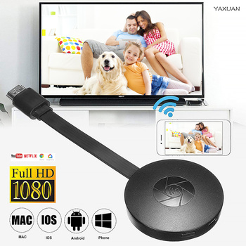 1080P Wireless WiFi Display Dongle TV Stick Video Adapter Airplay DLNA Screen Mirroring Share for iPhone iOS Android Phone to TV 10