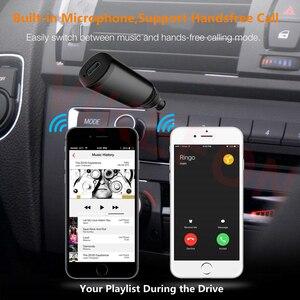 Image 5 - Ricevitore Bluetooth APTX LL 3.5 millimetri AUX Martinetti RCA Adattatore Wireless e Microfono Chiamata in Vivavoce Per Auto Trasmettitore Bluetooth 5.0 Audio ricevitore