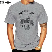 Summer T-Shirt Ultimate Japan Motorcycle VMAX 1200 Full Power Old School Inspired Motorcycle Art T-shi O-Neck Hipster Tshirts