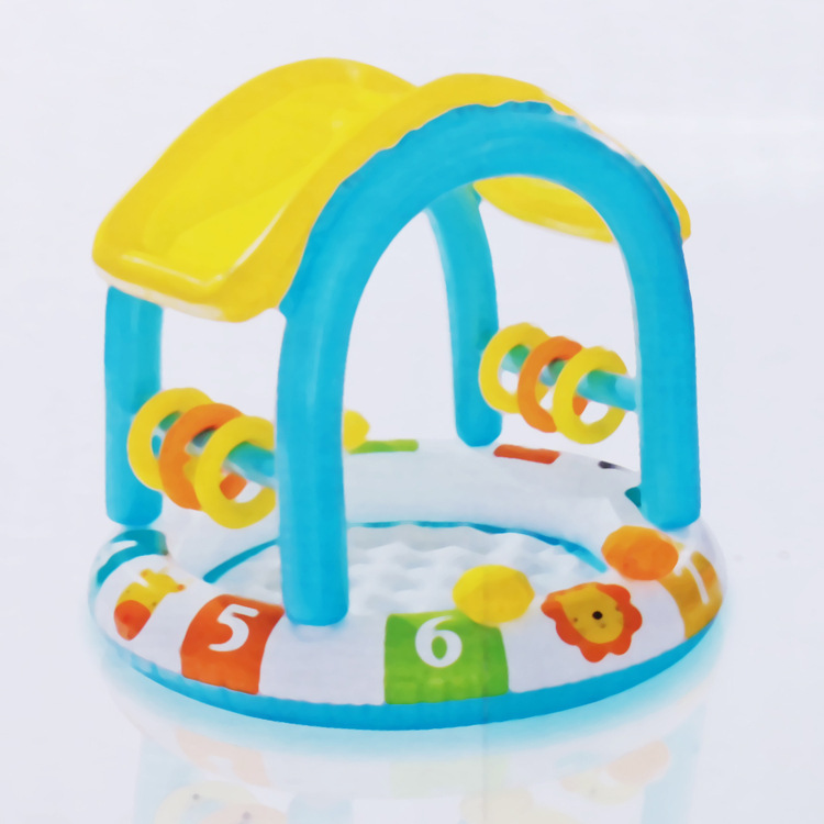 Genuine Product INTEX Children Swimming Pool with Numbers Infant College Style Paddling Pool Oceans Ball Pool Sand Pool Inflatab
