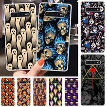 LJHYDFCNB Ghost ghost fire TPU Soft Phone Case Cover For Samsung S6 S7 S7 edge S8 S8 Plus S9 S9 Plus S10 S10 plus S10 E(lite) medicine nurse doctor dentist soft edge phone cases for samsung s6 edge plus s7 edge s8 s9 s10 plus lite e note8 note9 cover