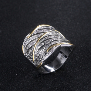 Image 4 - Huitan Unique Shape Women Ring Bridal Wedding Ceremony Rings High Quality Special interest Versatile Accessories Trendy Rings