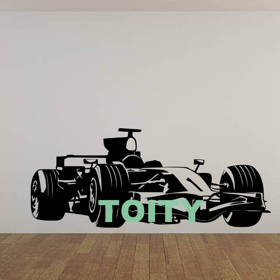 Formula One Car Racing Speed Fast F1 Wall Art Decal Sticker Picture Decorate