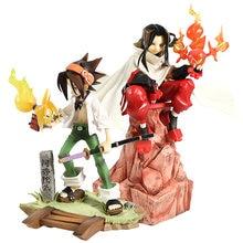 Shaman King Hao / Yoh Asakura 1/8 Bilancia PVC Figure Figurine Da Collezione Model Toy
