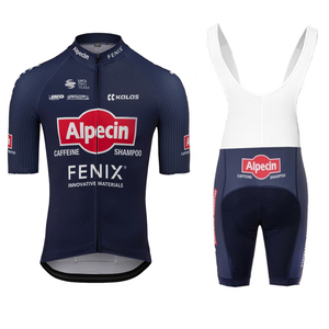 New PRO TEAM Alpecin FENIX Cycling jerseys 2020 Short sleeve Set Men bib shorts Summer riding clothing ciclismo hombre bike suit