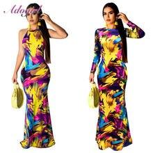 Элегантное женское платье с цветочным принтом в стиле бохо весеннее