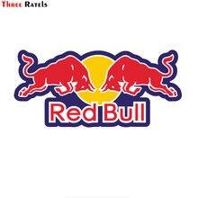 Tre Ratels pvc cool per RED of Bull grafica adesivi per auto e decalcomanie ordito per auto in vinile 3D per carrozzeria