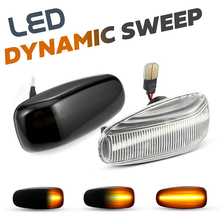 Led Zijmarkeringslicht Richtingaanwijzer Repeater Lamp Voor Mercedes Benz Vito W638 W639 W210 W208 Sprinter R170 Clk 320 430 500 Slk 230