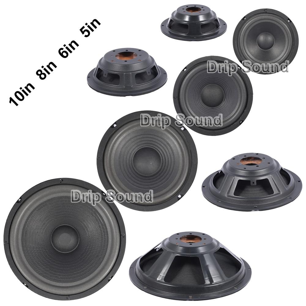 "5""/6""/8""/10"" Inch Speaker Passive Radiator Horn Woofer Diaphragm Radiator Auxiliary Bass"