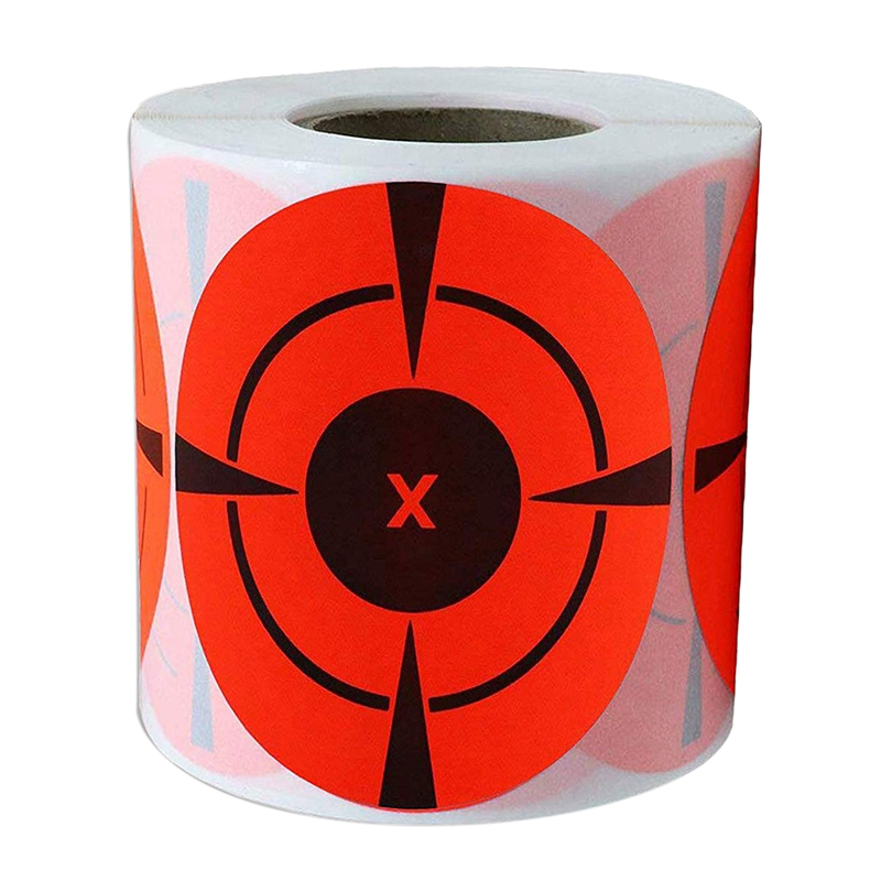 Target Stickers (Qty 125Pcs 3 Inch) Self Adhesive Targets For Hunting Targets