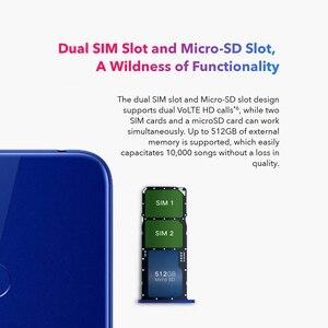 Image 2 - Version mondiale Honor 8A 6.09 pouces Android 9.0 13MP + 8MP 2GB + 32GB MT6765 octa core 3020mAh visage débloqué 4G Smartphone