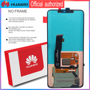 Image 4 - Original 6.39 Display with frame fingerprint Replacement for Huawei Mate 20 Pro LCD Touch Screen LYA L29 Digitizer Assembly