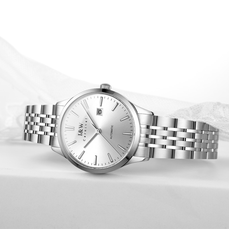 2020 Switzerland CARNIVAL Top Brand Luxury Fashion Sapphire Automatic Mechanical Women Watch Waterproof Sport Watch Montre Homme 2