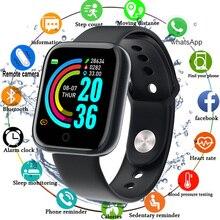 Smart Watch Waterproof Men Digital Smartwatch Women Heart Ra