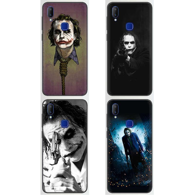 Heath Ledger Joker Silicone Ốp lưng điện thoại VIVO Y53 Y55 Y81 V5 V7 V9 V11 V15 Pro Y17 Y69 Y71 y91 Y93 Y66 X9