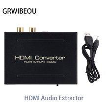 Преобразователь hdmi для аудио экстрактора spdif Оптический